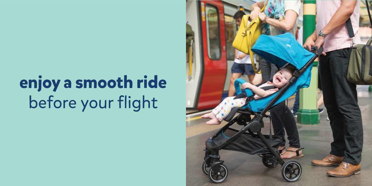 the best pushchair for airplanes