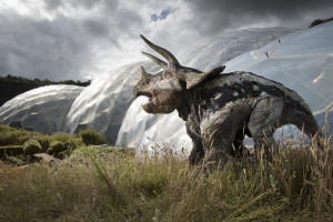 Photograph by Emily Whitfield-Wicks Dinosaurs - Eden Project.